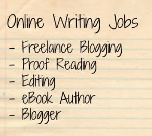 jobs to make money writing online