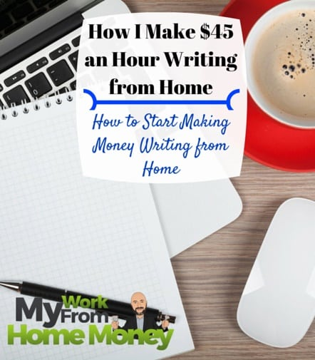make money writing from home