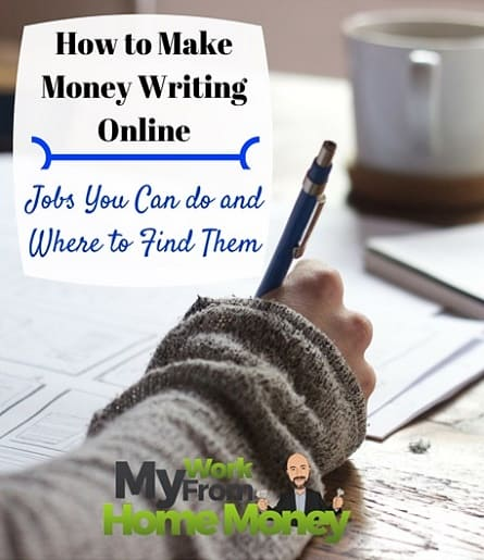 make money writing online from home