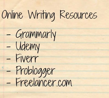 make money writing online resources