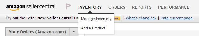 list inventory on amazon seller central