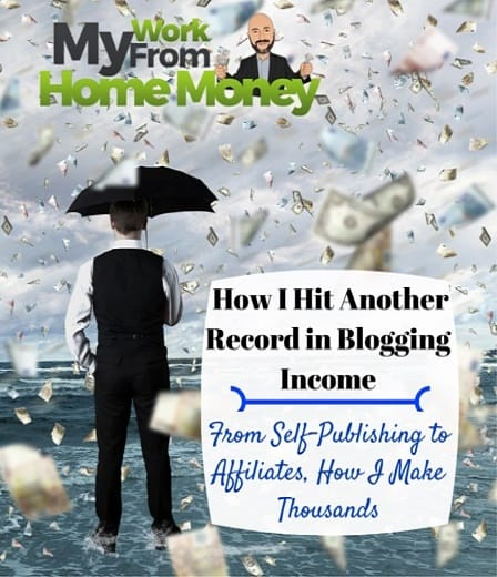 monthly blogging income 2016