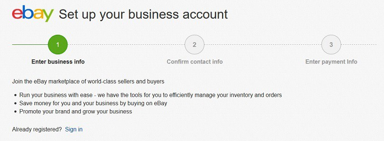 making money ebay selling as business