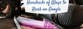 boost website rankings google
