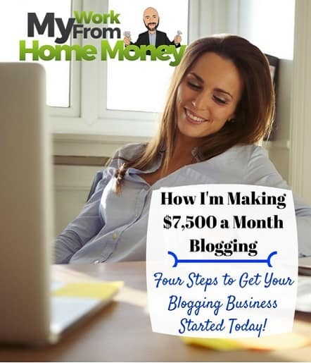 make money blogging from home