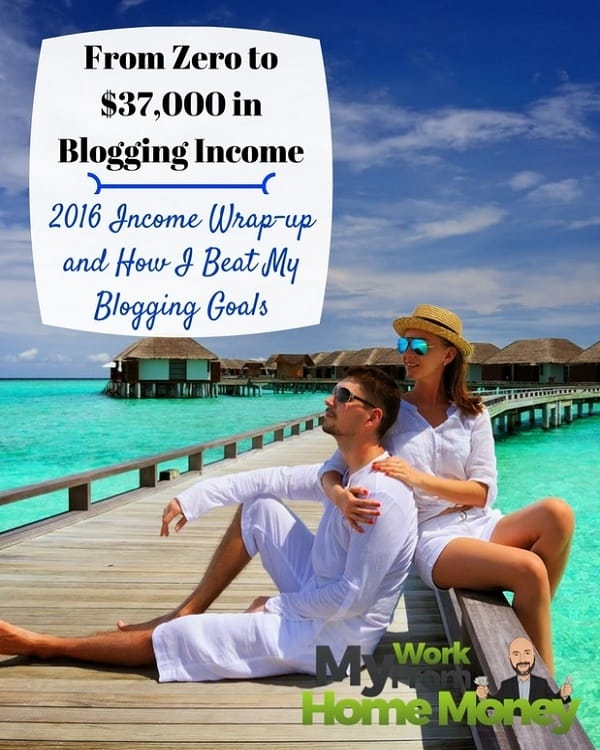 monthly blogging income goals 2017