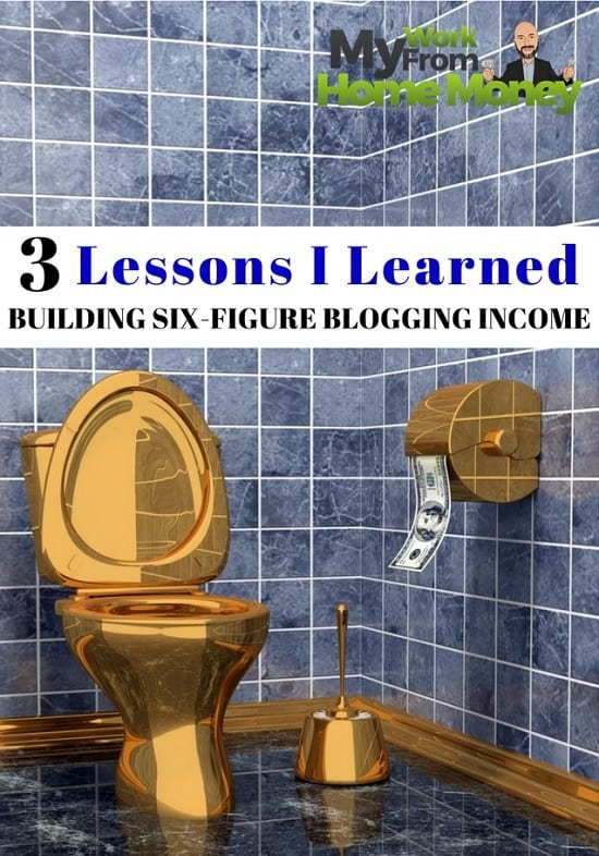 how to six figure blogging income