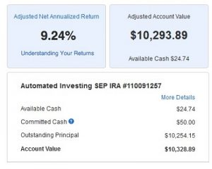 residual cash flow investing