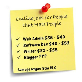 online jobs for people that hate people