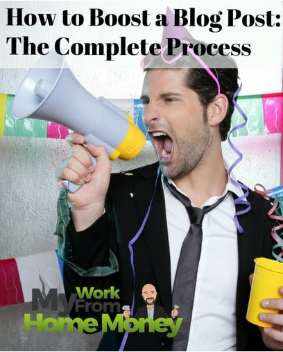 complete process to promote a blog post