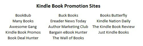 best book promotion sites for kindle