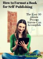 format a book for self publishing kindle
