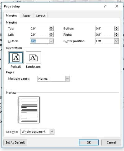 formatting a book for print paperback