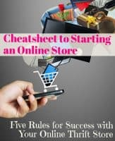 5 Rules to Start a Thrift Store Online