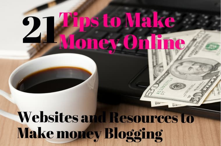 tips to make money online blogging