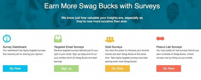 making money swagbucks surveys
