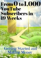 From 0 to 1,000 YouTube Subscribers in 19 Weeks