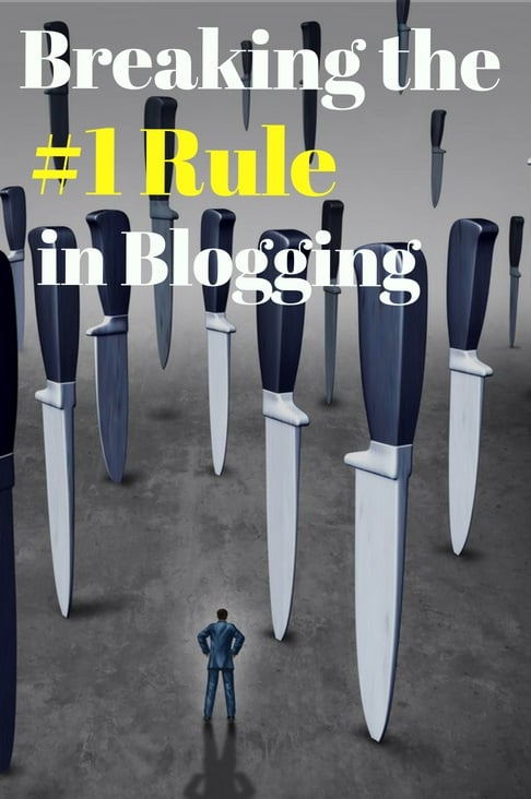 biggest blogging rule