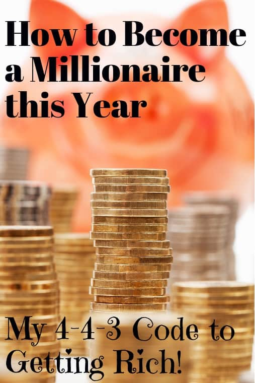 steps to become a millionaire