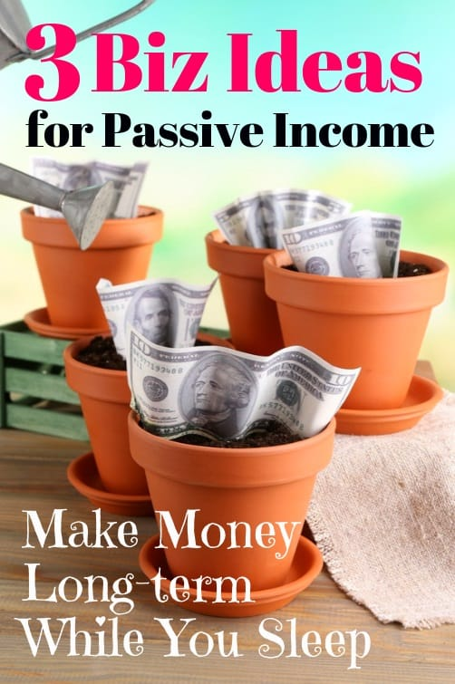 passive income business ideas online
