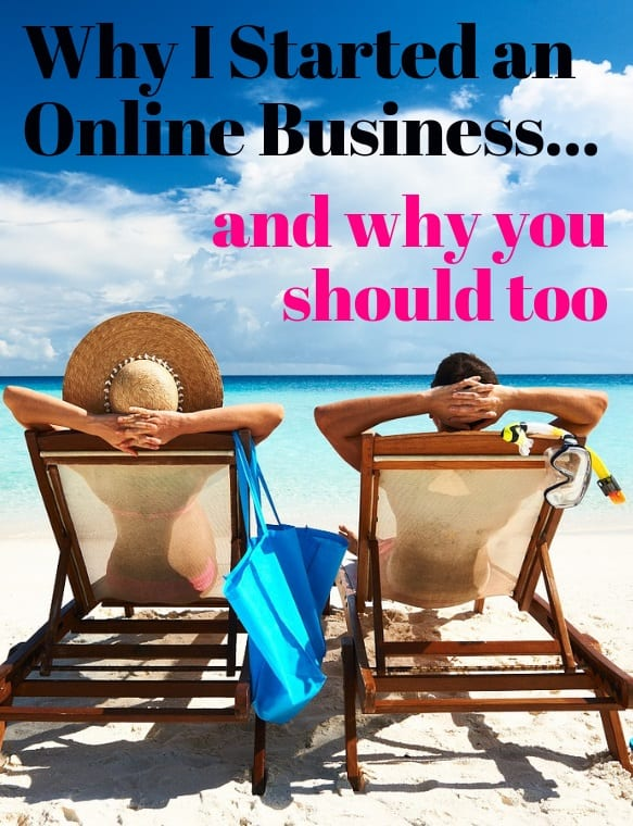 why i started an online business on youtube
