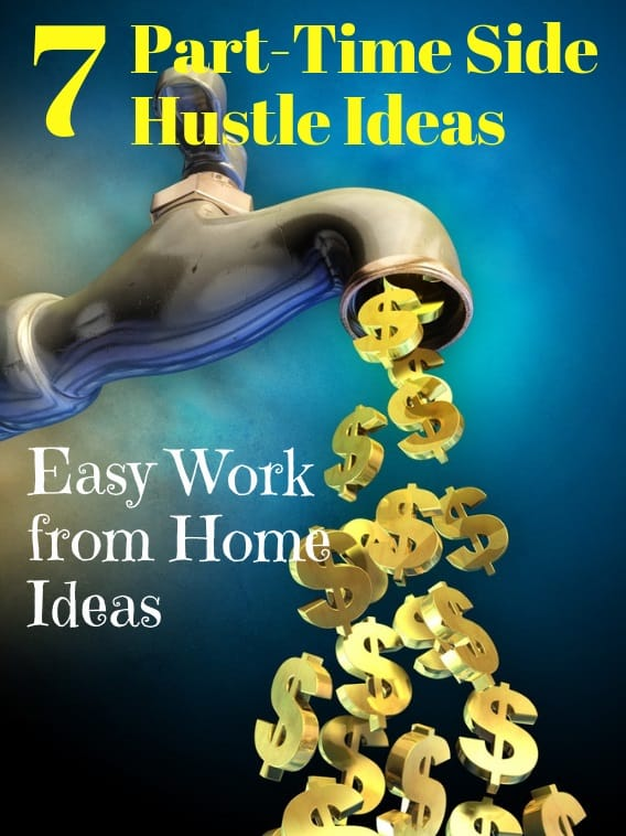 part time side hustle ideas from home