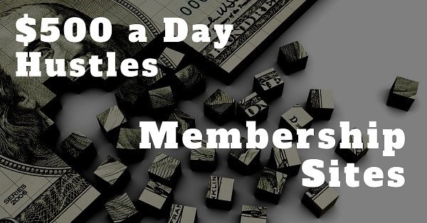 make money everyday with a membership site