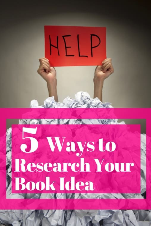 research for self-publishing book
