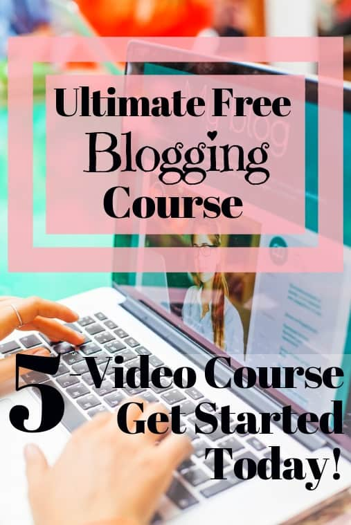 best free blogging course online