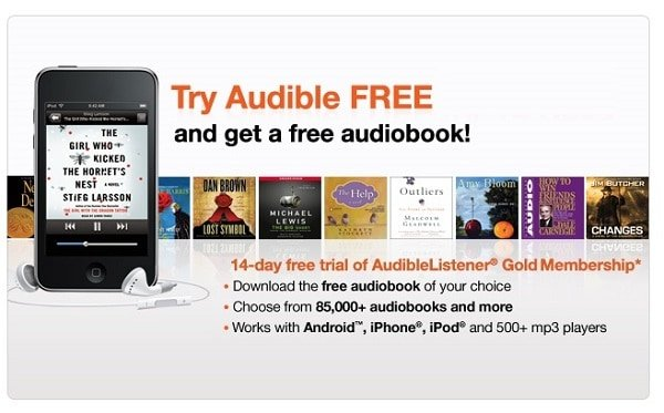 Audible Free Coupon Code